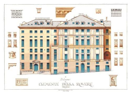 Circuito dei Rolli: Palazzo Clemente della Rovere, headquarters genovese di Gruppo Lercari