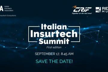 Italian Insurtech Summit – in live streaming il 17 Settembre dalle 8:45